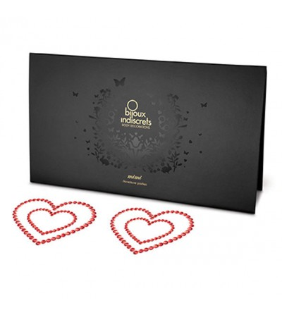 Bijoux Indiscrets decoración corporal corazón rojo