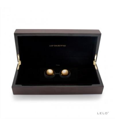 Lelo caja de lujo de entrenador pélvico de oro